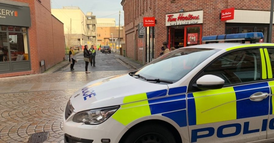 Man falls to his death in Altrincham town centre