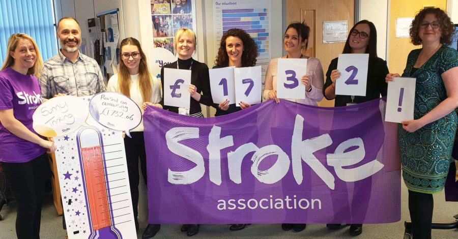 Altrincham marketing firm completes 10 charity challenges and raises £1,700 for Stroke Association