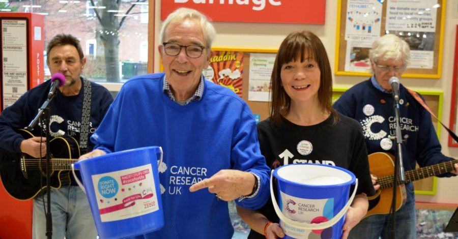Half a million up! Altrincham charity band Loose Change Buskers hits incredible fundraising milestone