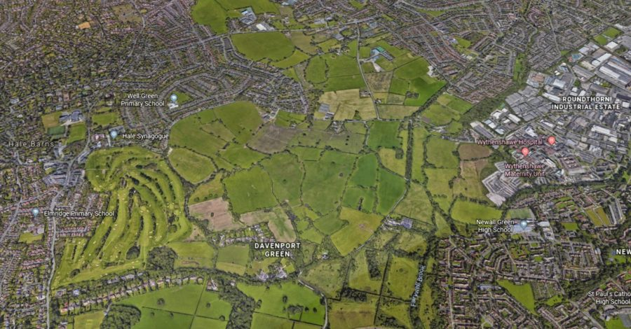Plans to build 2,400 new homes on the Timperley Wedge green belt are off – for now