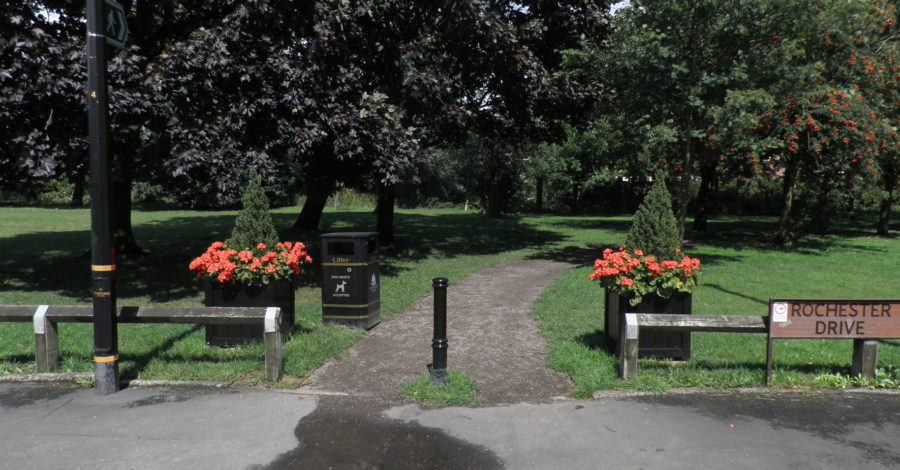 Timperley park dedicated as a protected site in memory of World War One dead