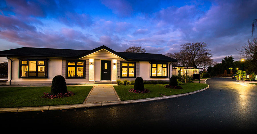 This new development of 13 park homes for the over-55s is just five miles from Altrincham