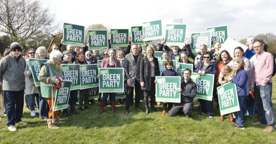Green Party makes land pledge as it launches local election campaign on Altrincham's Cow Field