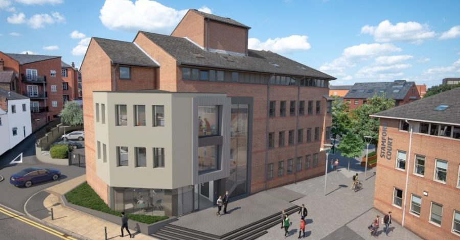 30,000 sq ft building set to attract new businesses to Altrincham after complete refurb