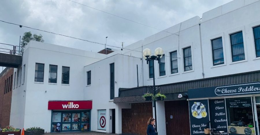 Plan submitted to convert office space above Wilko in Altrincham into 12 flats