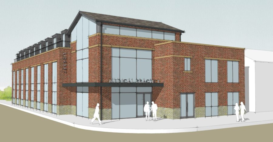 New Timperley library, medical centre and apartment scheme set to be completed by autumn 2020