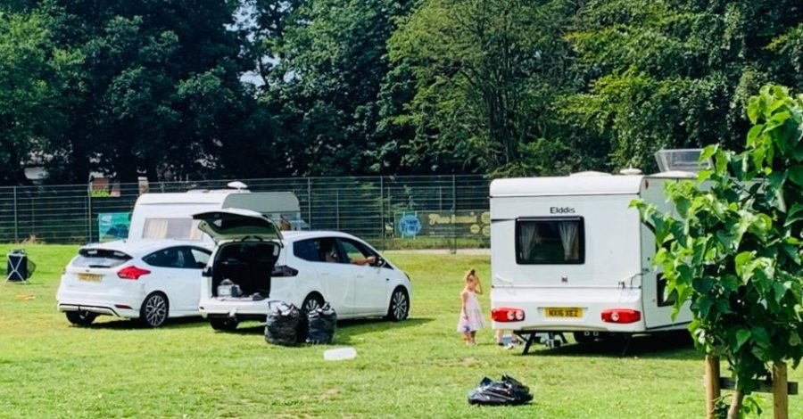 Trafford Council begins legal process to evict travellers on John Leigh Park