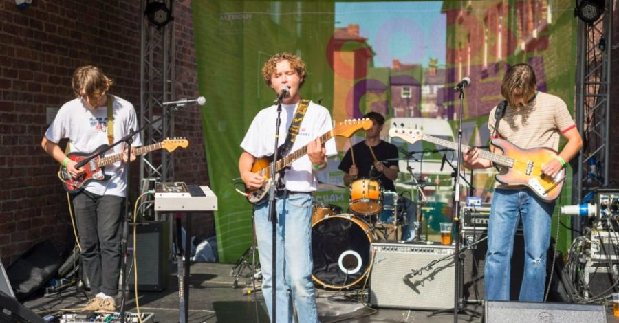 Live music is coming to Goose Green on every Saturday and Sunday this August