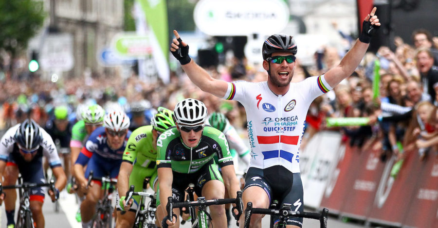 Mark Cavendish, Britain's most successful rider of all time, will appear in Altrincham when Tour of Britain arrives next week