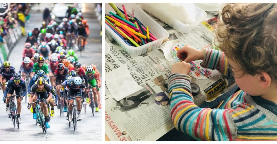Decorate a bike for the Tour of Britain at series of FREE children's workshops in Altrincham next week