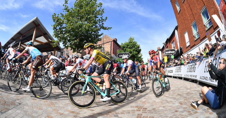 A record 50,000 visitors came to watch the Tour of Britain in Altrincham