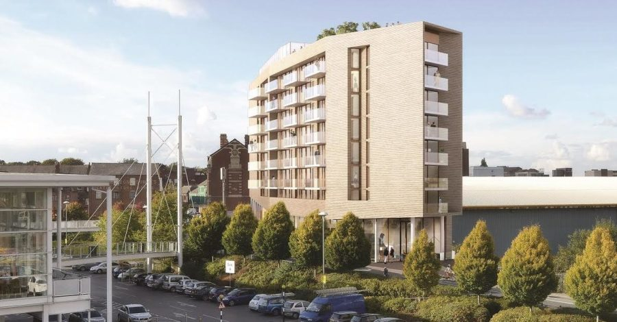At long last! Work on the £70m Altair scheme is to begin on Monday
