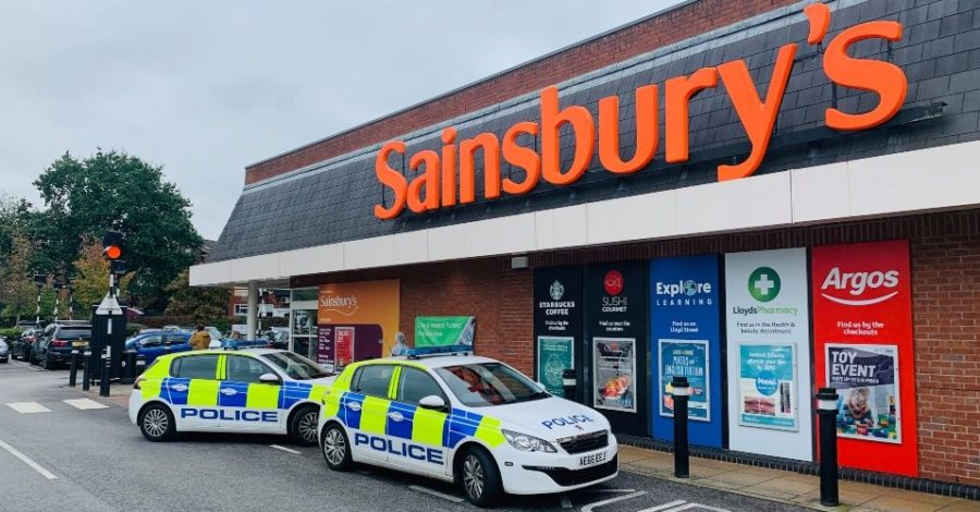 Altrincham Sainsbury's targeted by machete-wielding gang in broad daylight robbery