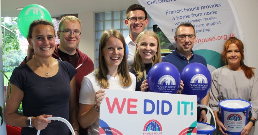 Altrincham firm raises £80,000 in five years for Francis House Children's Hospice