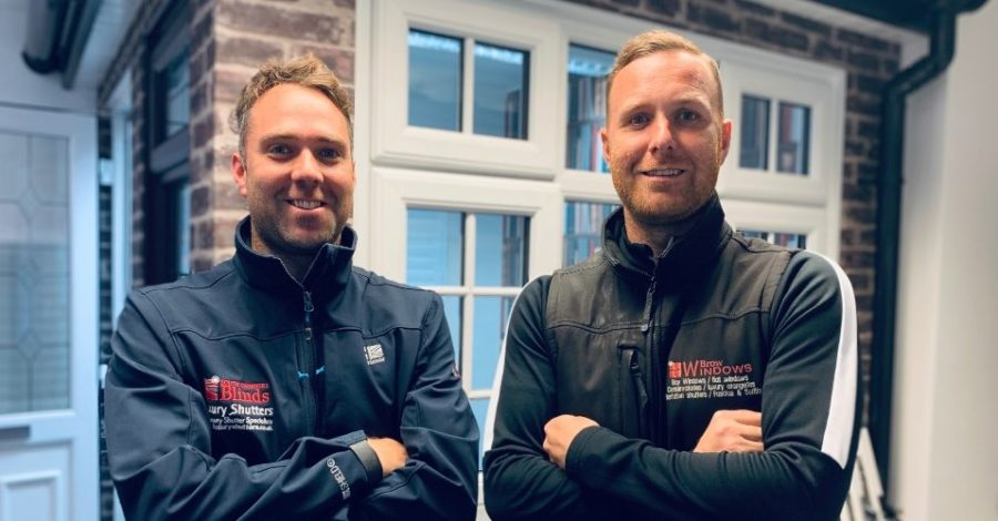 Meet the brothers hoping to be a perfect fit for the window shoppers of Altrincham