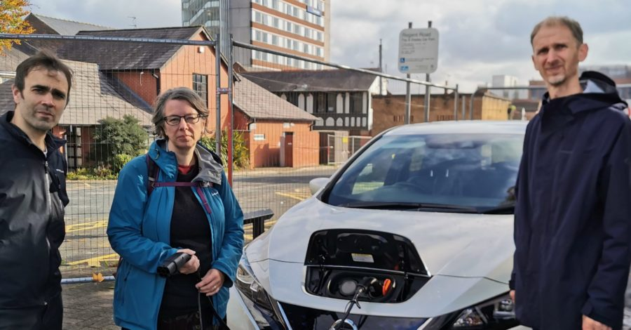 Altrincham's electric car drivers deprived of town centre charging points until 2020, say Green councillors
