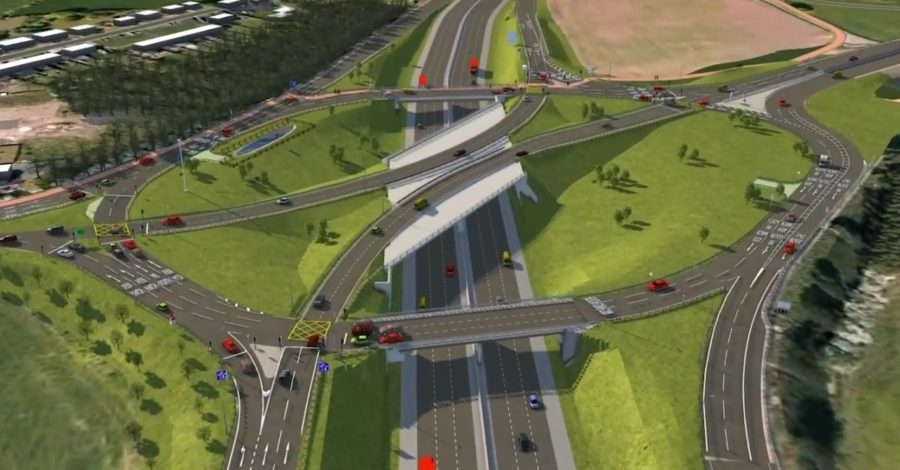 £43m scheme to ease congestion at busy M6 junction will start in the spring