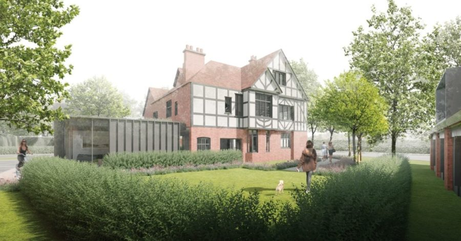 Plans unveiled for 21 homes and a community hub on site of former Stamford Arms