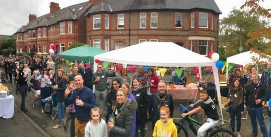 A tornado hit their Hale road – but community spirit improved so much since that on Saturday they held a street party