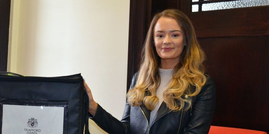 A Timperley woman has claimed the wedding ring found in an Altrincham ballot box on election night