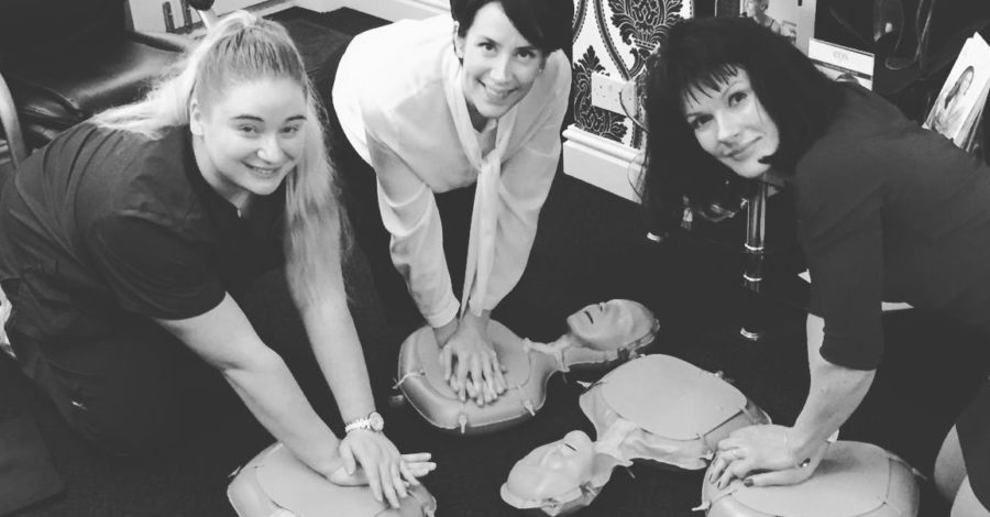 Use our CPR training kit and learn how to save a life: Altrincham company's offer to local businesses