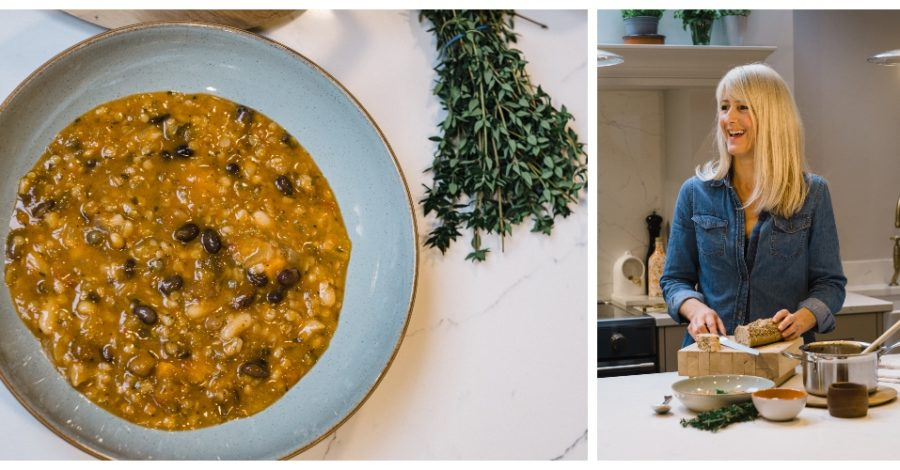 Recipe: Try this Hearty Winter Vegetable & Bean Soup from Altrincham nutritionist Kate Roberts