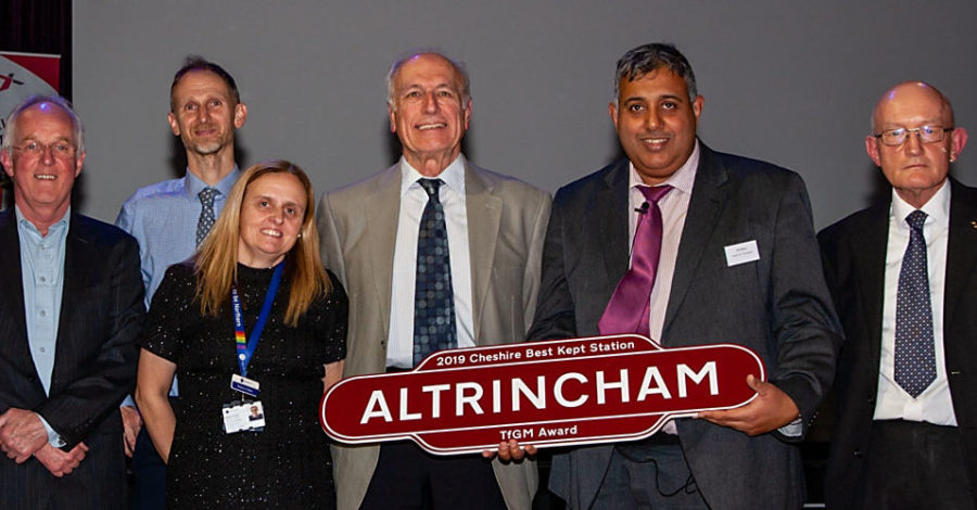 Altrincham Interchange wins award at Cheshire Best Kept Stations event