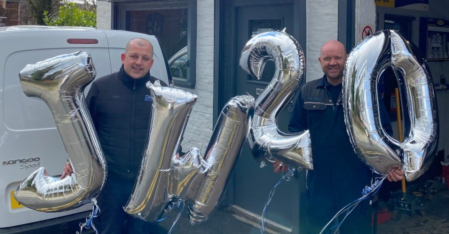 Motor garage celebrates 20 years in Hale village