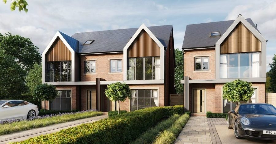 Work begins on new development of four-bedroom properties in Timperley