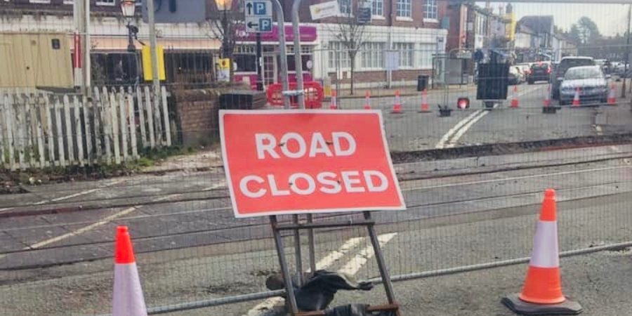 "Network Rail apologise for overrunning closure of Hale Crossing that businesses say has ""absolutely killed"" trade in the village"