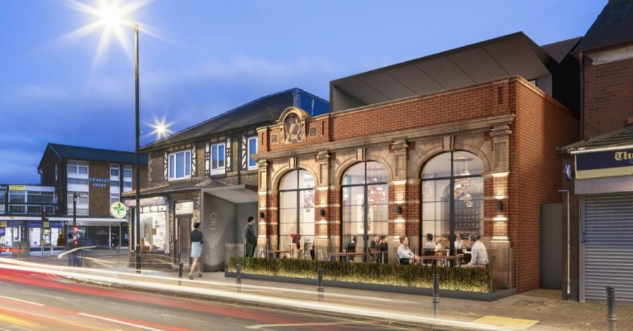 Plan submitted to transform former NatWest bank in Timperley village into two-storey restaurant