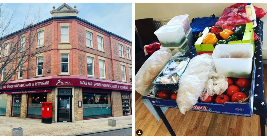 Altrincham restaurant Evuna donates surplus fruit and veg to food bank after coronavirus shutdown