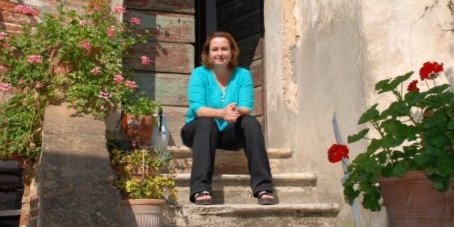 """You need a permit to leave the village… but at least I now have time to learn the piano"": Artist Elizabeth Cochrane on life under lockdown in an Italian hilltown"