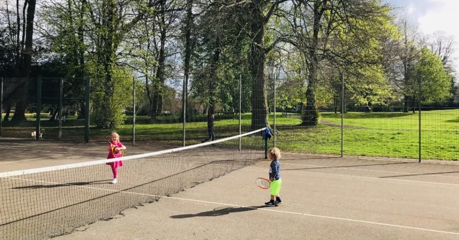 Public tennis courts and bowling greens in Altrincham are back open again – but playgrounds remain closed