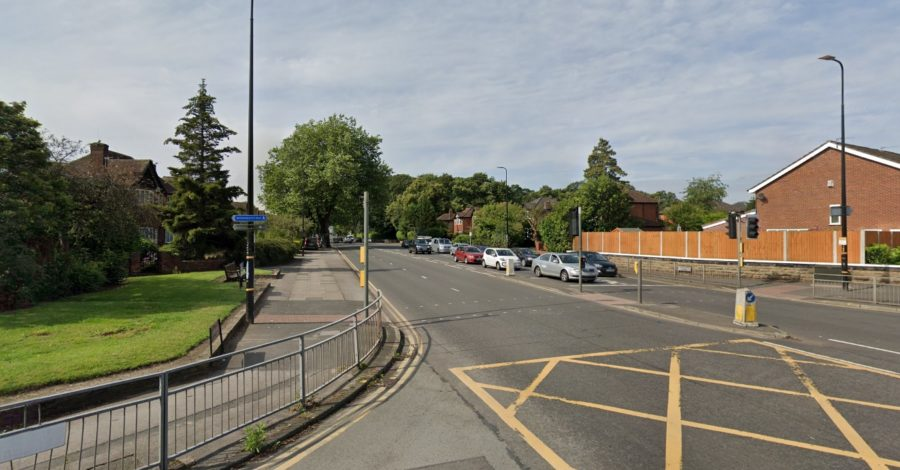 A new seven-mile cycle lane connecting Altrincham with Manchester will be ready next month – and it could be made permanent