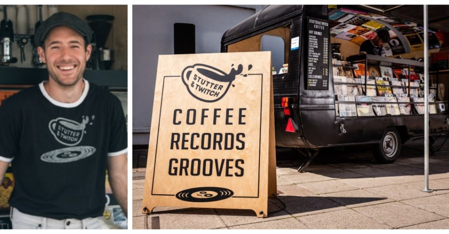 Meet the man behind the 'Caravan of Love' bringing coffee and grooves to Stamford Square
