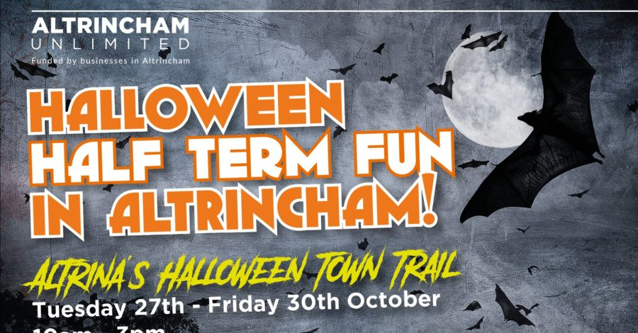 The Halloween family town trail returns to Altrincham this half-term