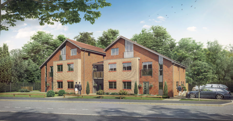 All 10 homes on affordable Altrincham development sold within three months of completion