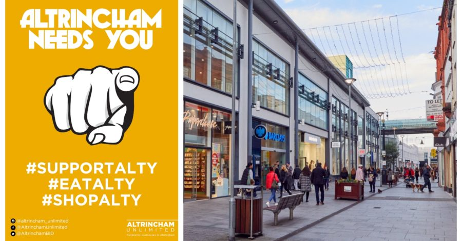 Your town needs YOU! Altrincham's businesses are under threat – now is the time to step up and support them