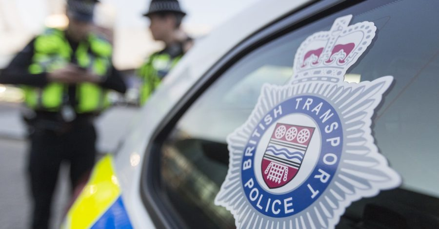 A person has been found dead on railway tracks near Altrincham