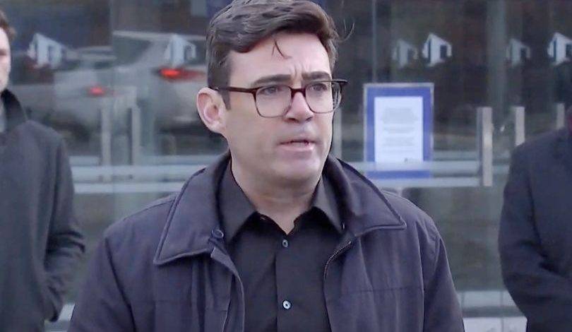 "Andy Burnham calls on Parliament to ""intervene"" as he claims government walked away from £65m deal"