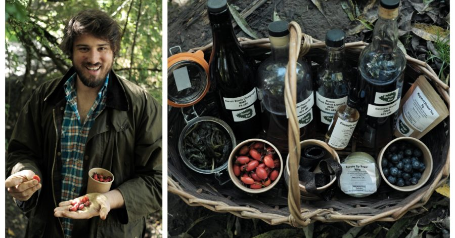 The Wild Food Hunter: Meet the Timperley man who has built a business selling foraged food