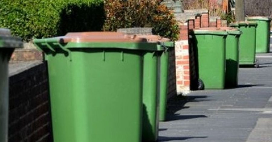 Your green bins are going to be collected on a weekly basis again