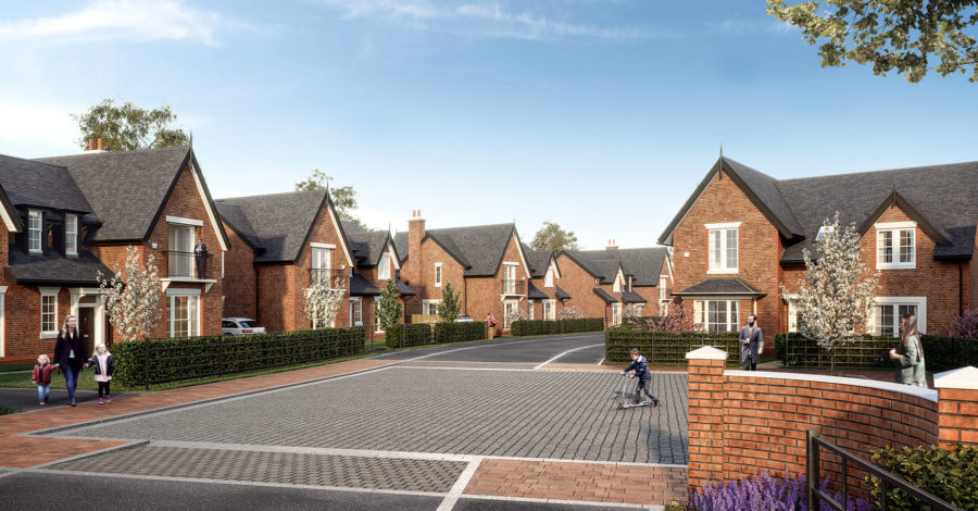Altrincham estate agency partners with developer on new luxury 30-home development near Knutsford