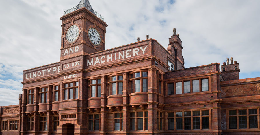 A new lease of life for the Broadheath factory that fuelled a global newspaper revolution