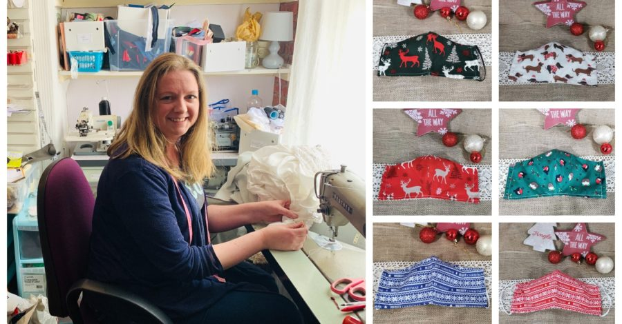 "Timperley seamstress launches Christmas mask range after business is ""quietly cancelled"" by coronavirus"