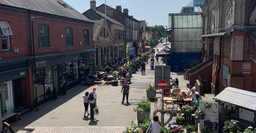 Greenwood Street improvement works brought forward to minimise business disruption