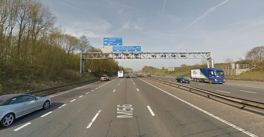 M56 smart motorway upgrade to bring in speed limits between Hale and Bowdon junctions until 2022