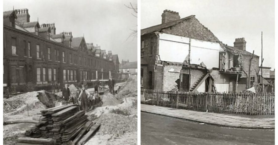 Eighty years ago this Christmas, German bombs brought death and destruction to Altrincham