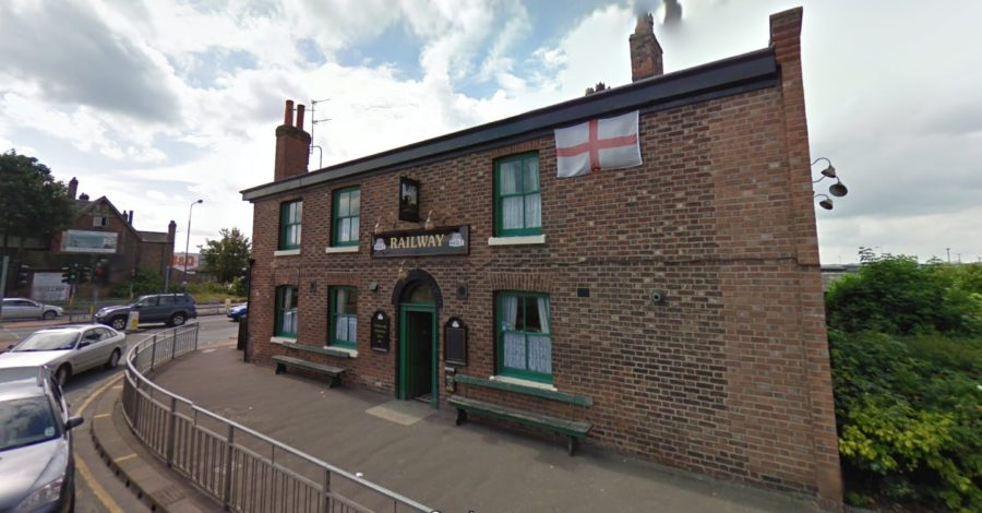 Firefighters called out to blaze at Altrincham pub